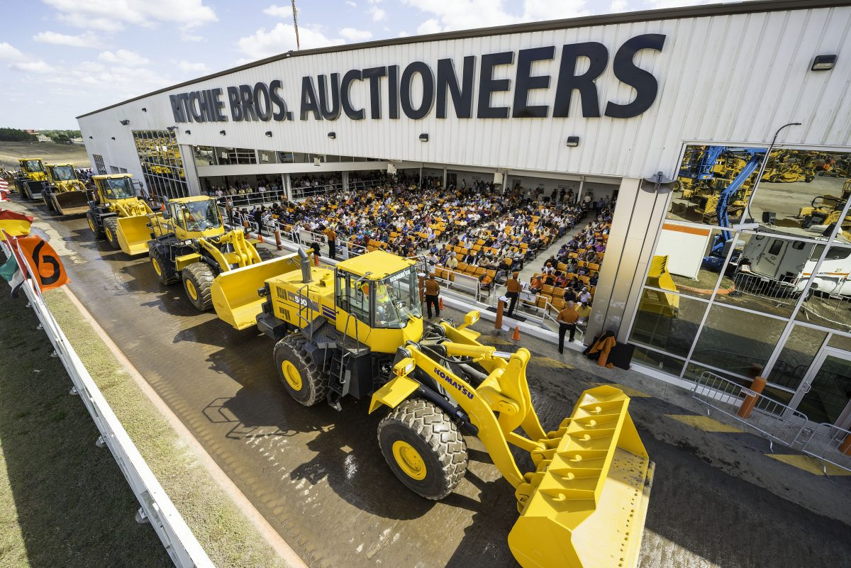 Ritchie Bros hits US$297+ million in the world's largest equipment auction