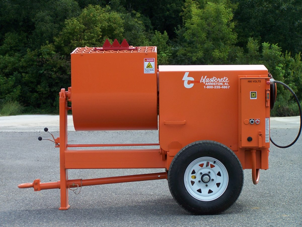 Blastcrete Equipment's Refractory Paddle Mixer delivers speed and reliability