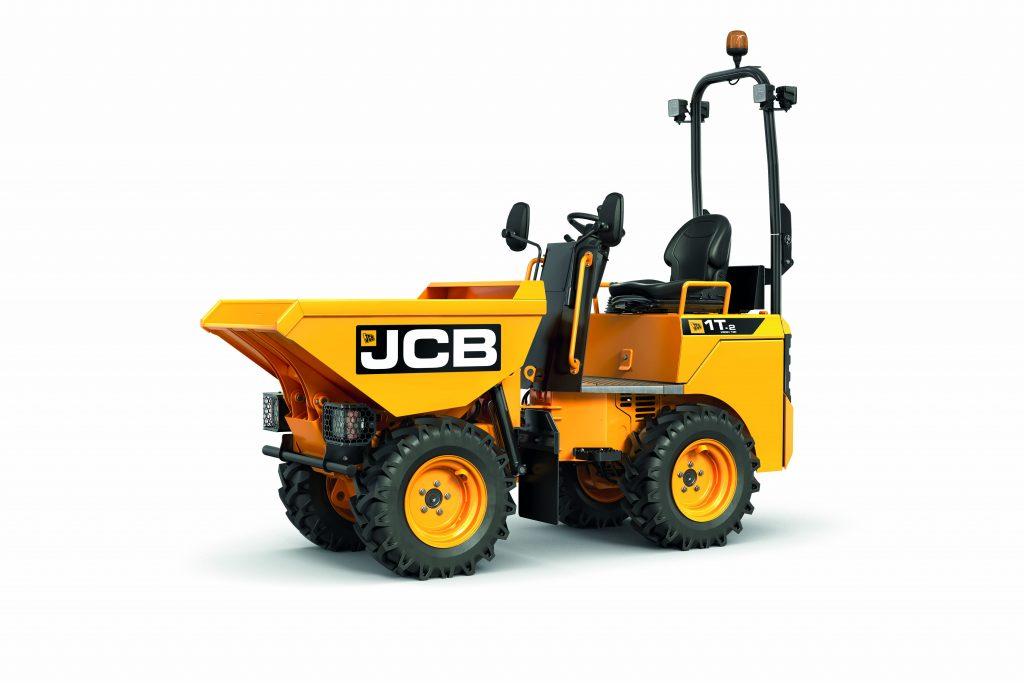 JCB's new 1 tonne dumper becomes the industry's safest