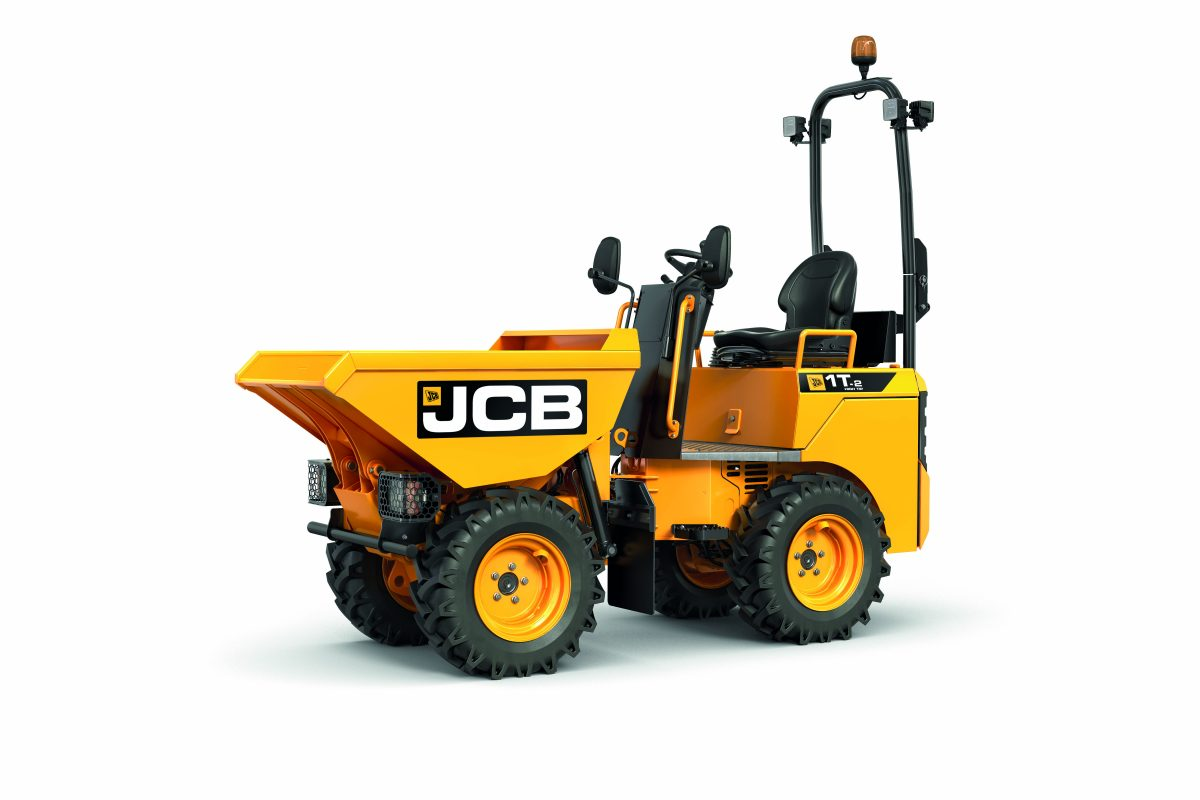 JCB's new 1 tonne dumper becomes the industry's safest