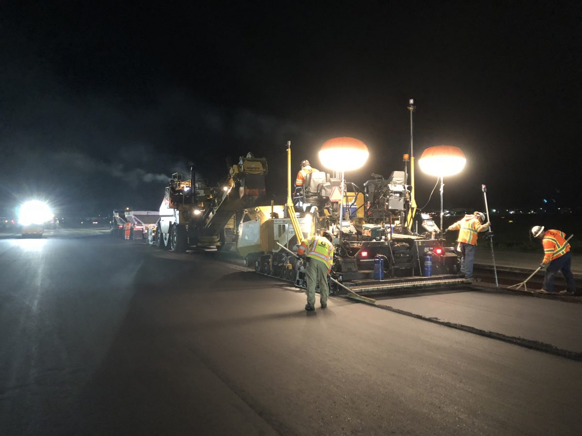 Granite Construction Co. wins NAPA National Airport Paving Award