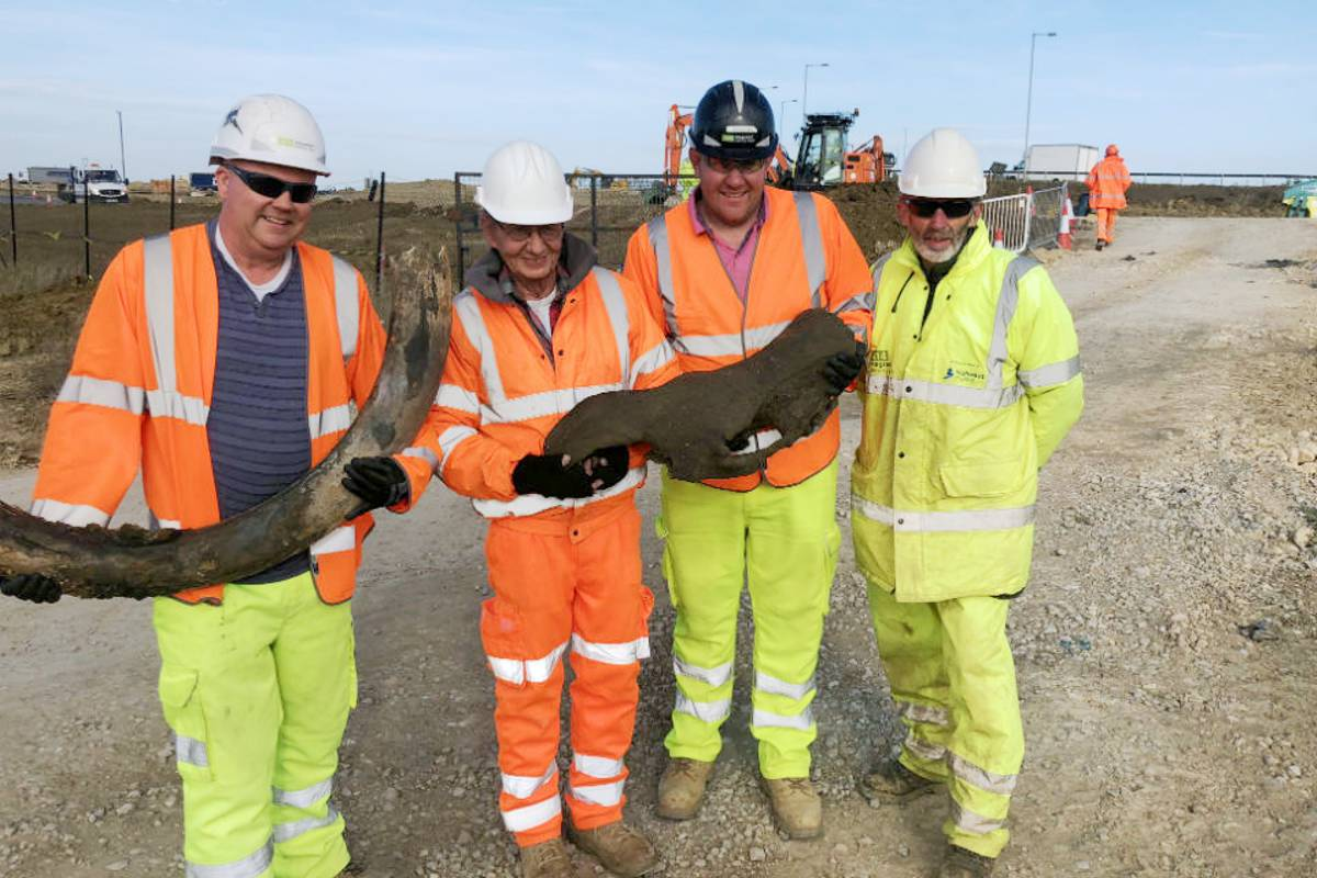 Evidence of 2,000 year old beer making found on mammoth A14 road scheme in England