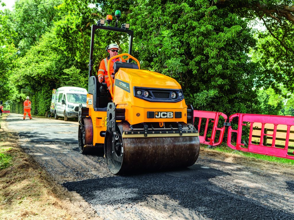 JCB introduces tandem rollers designed to simplify operation and maintenance