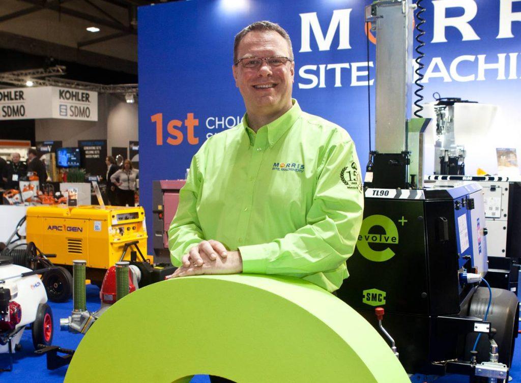Allan Binstead, Morris Site Machinery Managing Director