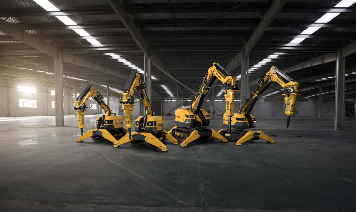 Brokk introduces SmartConcept B300, next generation Demolition Robot