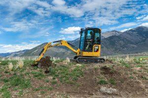 Next generation Cat mini-excavators designed for optimum customer value