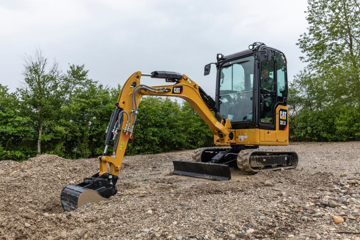 Next generation Cat mini-excavators designed for optimum customer value