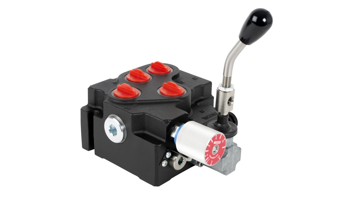 Webtec's new CV120 hydraulic combination valve offers complete motor control