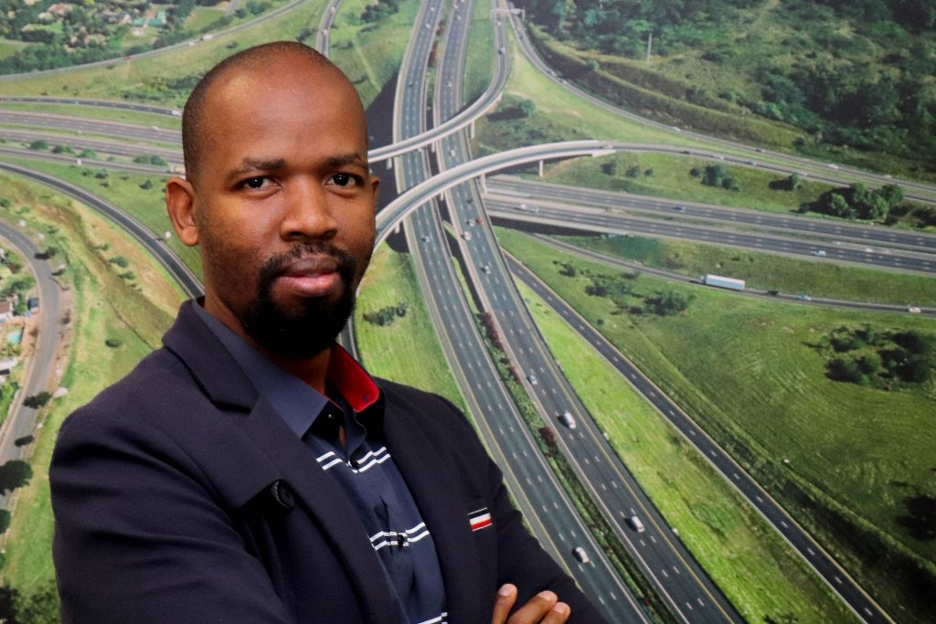 Dumisani Nkabinde, SANRAL Eastern Region regional manager