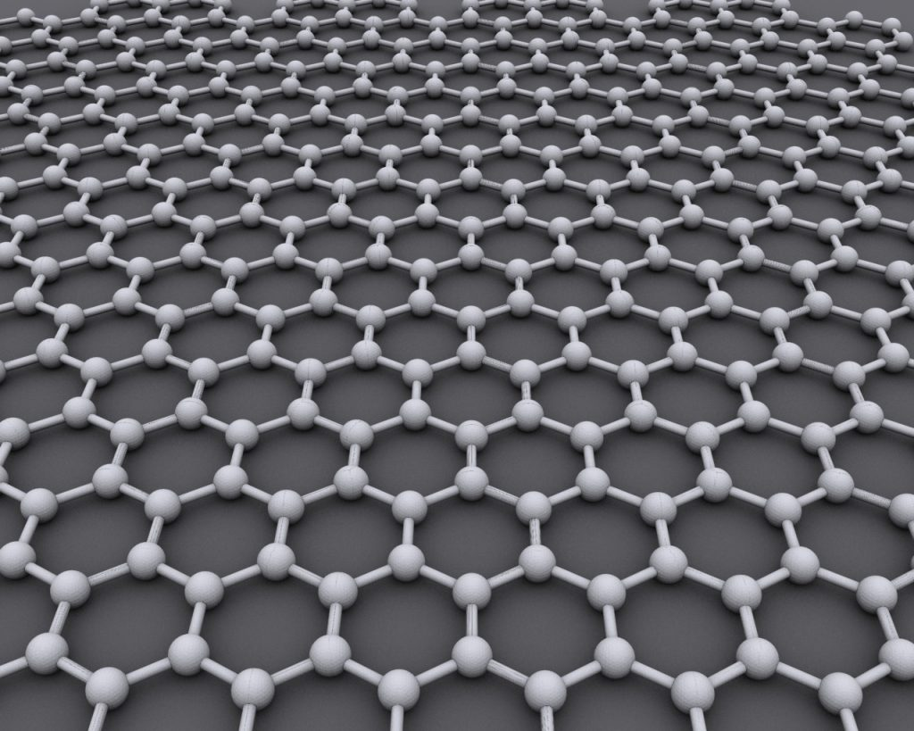 Graphene - Photo by UCL Mathematical & Physical Sciences