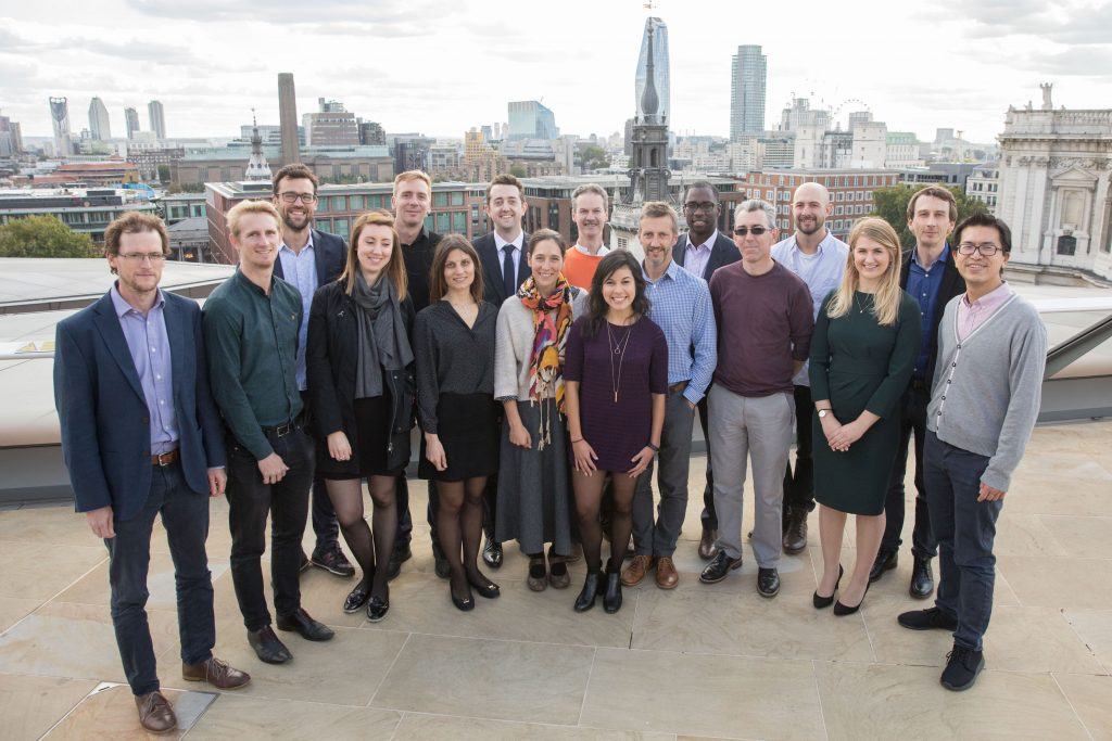 In the representatives from L&Q Product Innovation Team (Wayne Hill is third from left), Hawkins\Brown Architects LLP, HTA Design LLP, Pollard Thomas Edwards Architects, Ramboll, Heyne Tillet Steel and, AES Sustainability Consultants