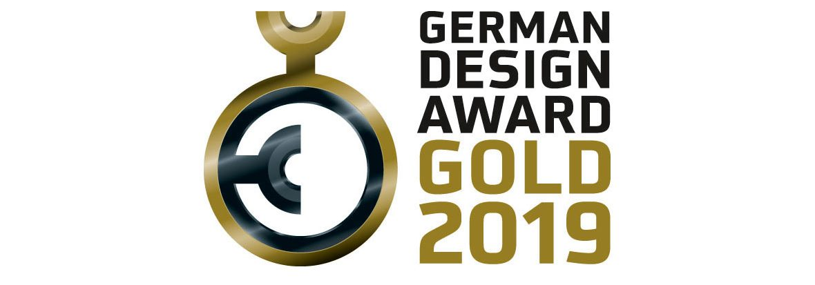 "At the beginning of February 2019, HAMM received the ""German Design Award Gold"" for the design study in the category ""Utility Vehicles"". The prize award ceremony was held on 8 February 2019 in Frankfurt/Main."