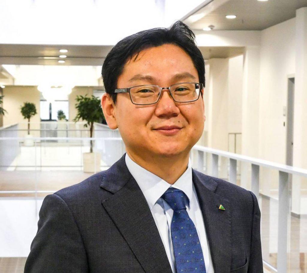 Hyundai Construction Equipment Europe Managing Director Jongho Chun