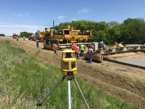 Topcon technology is integral to modern concrete paving