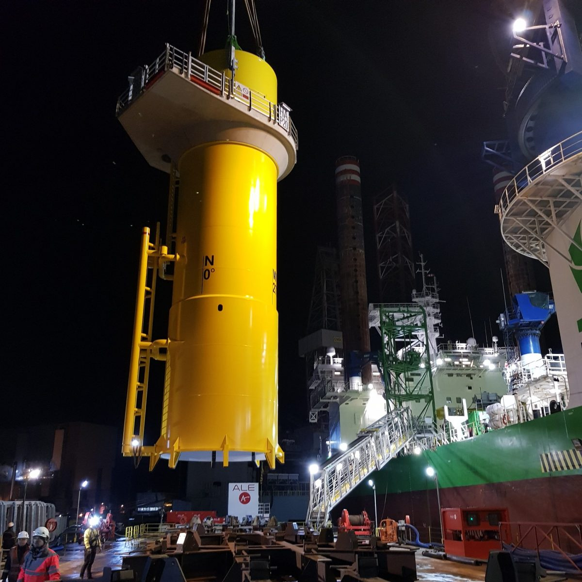 ALE's offshore engineering expertise proves itself on world's biggest offshore windfarm project