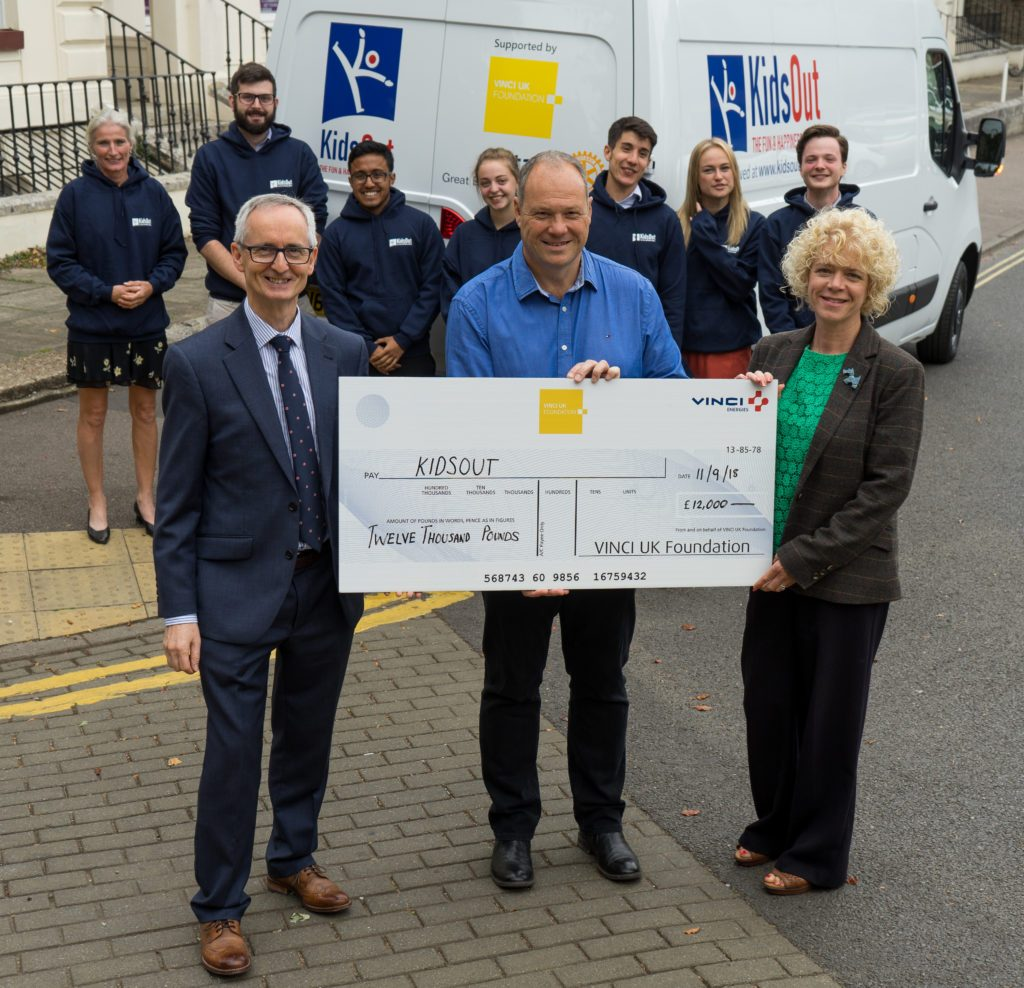 KidsOut, a Bedfordshire-based children's charity, was awarded £12,000 to enhance its Toy Box service (through the purchase of a second-hand minivan).