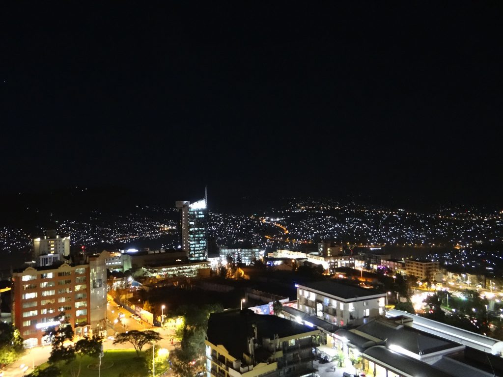 Kigali by Night - Photo by Erdbeernaut