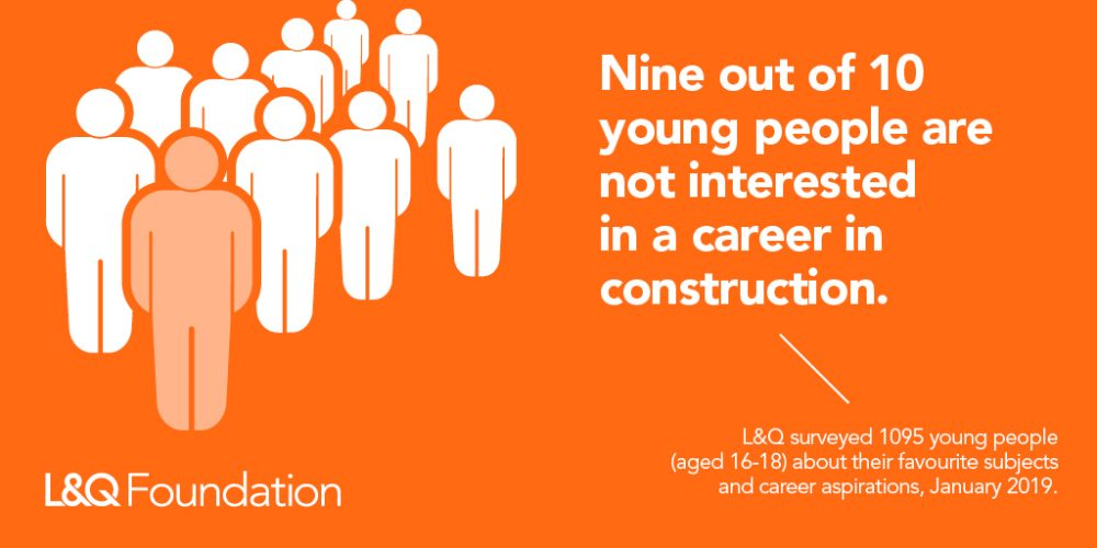 New research shows Construction Industry failing to attract young people