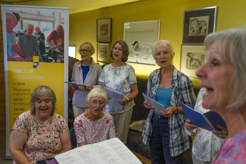Maggie's Centre, a Cheltenham-based charity, was awarded £7,440 by the VINCI UK Foundation to develop an Outreach Centre in the Forest of Dean.