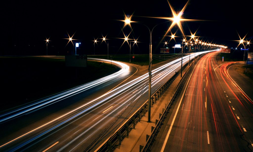 Night Road - Photo by jzool