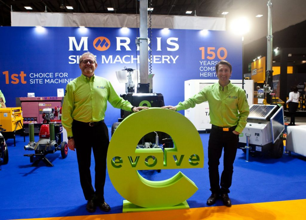 Morris Site Machinery to shine a light on their international business at bauma