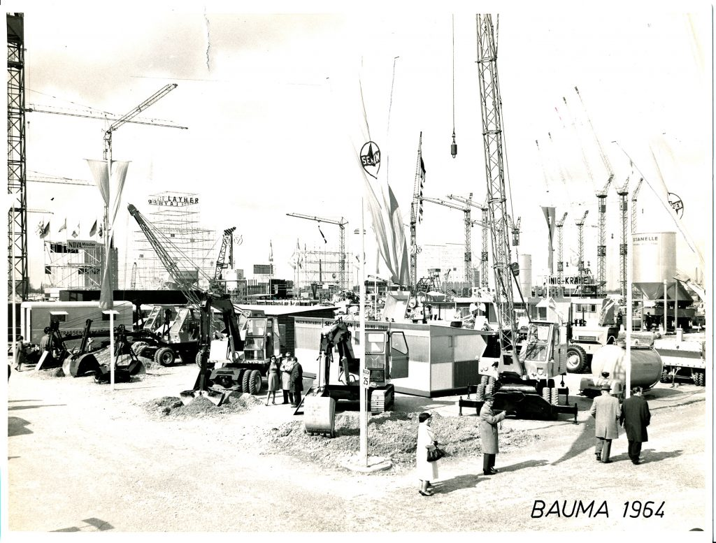 SENNEBOGEN celebrates 60th year at bauma