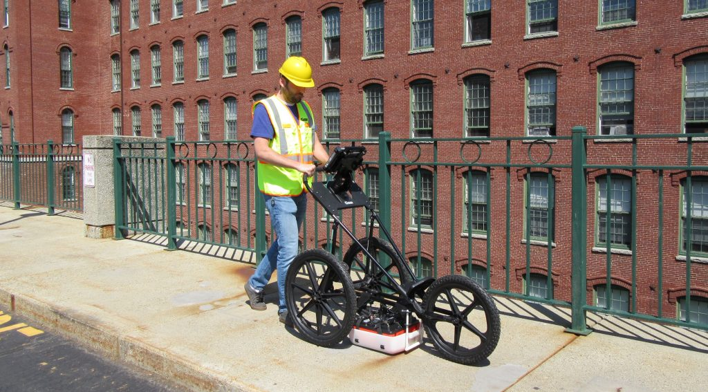 A complete system for Ground Penetrating Radar surveys of utilities