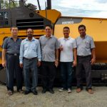 Relief for Central Sulawesi roads thanks to Volvo Pavers