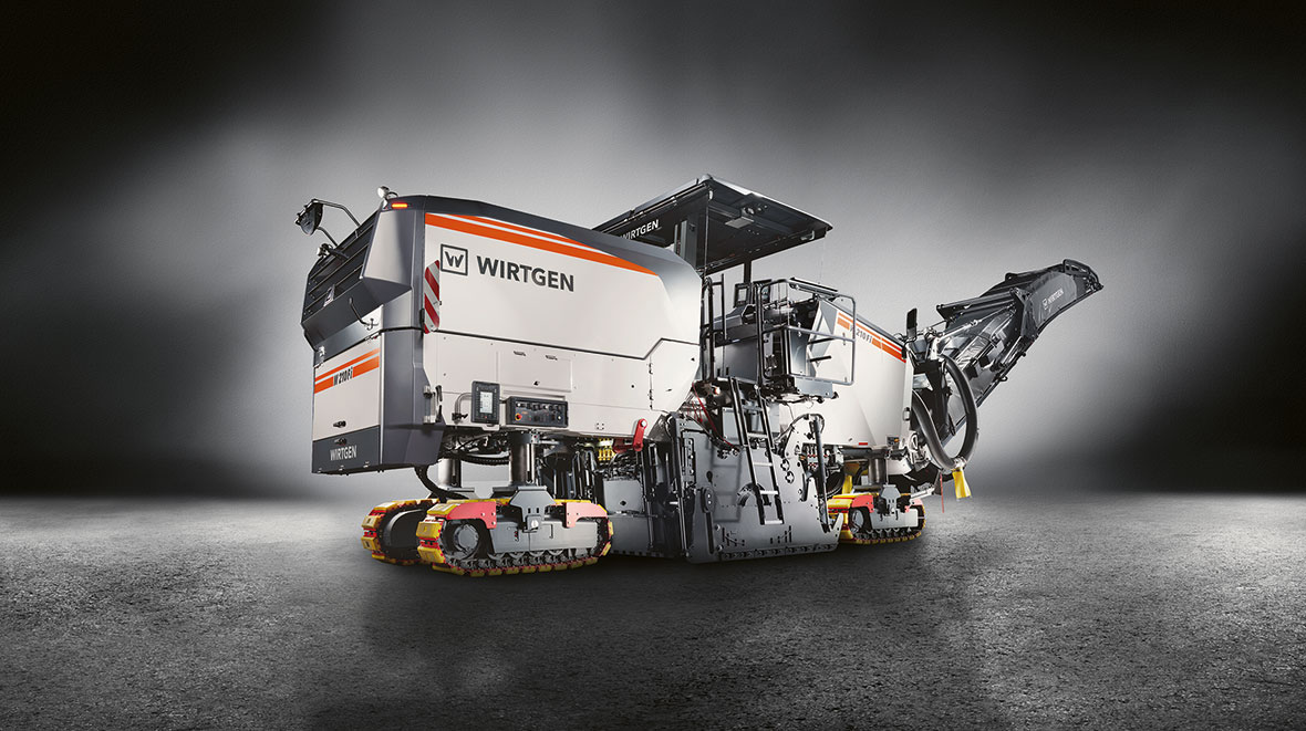 Thanks to its intelligent control technology, Wirtgen's new generation of large milling machines with MILL ASSIST sets new standards in milling technology.