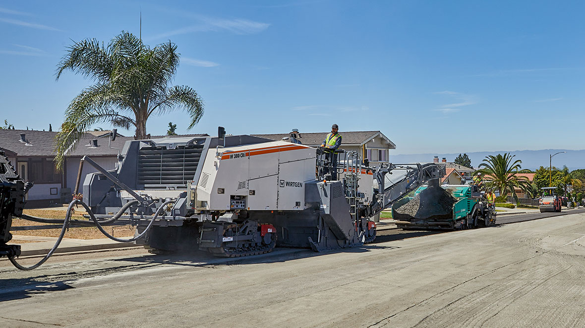 Wirtgen W 380 CRi high performance and high-tech Cold Recycler set for Bauma launch