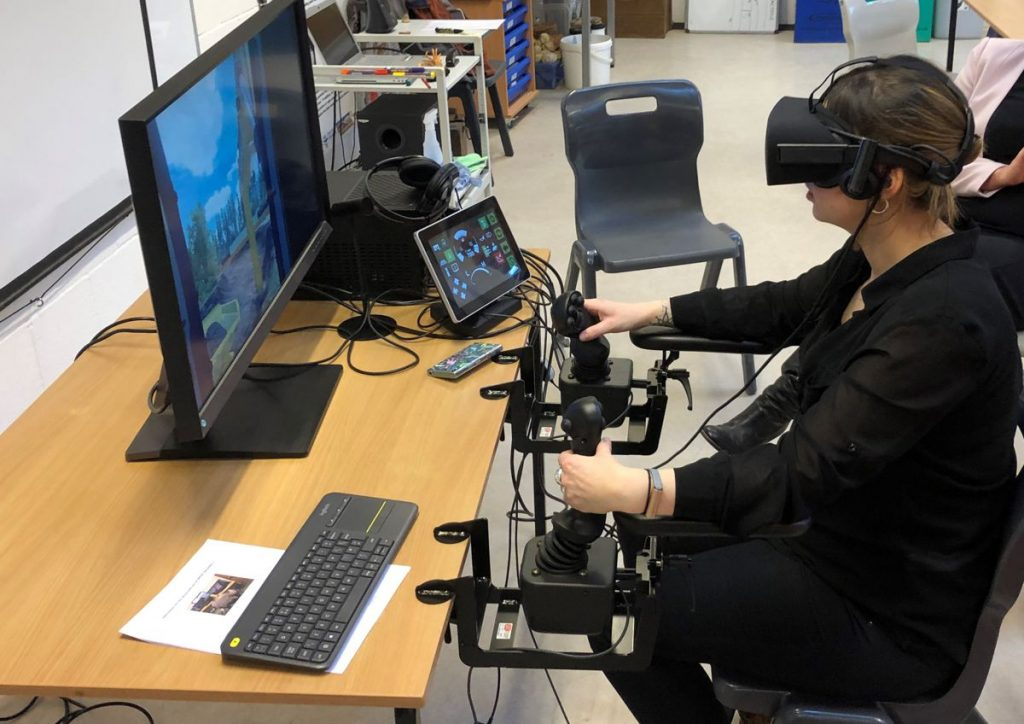 Minerals Matter brings the latest VR technology to Wainwright & Co's Outreach Programme