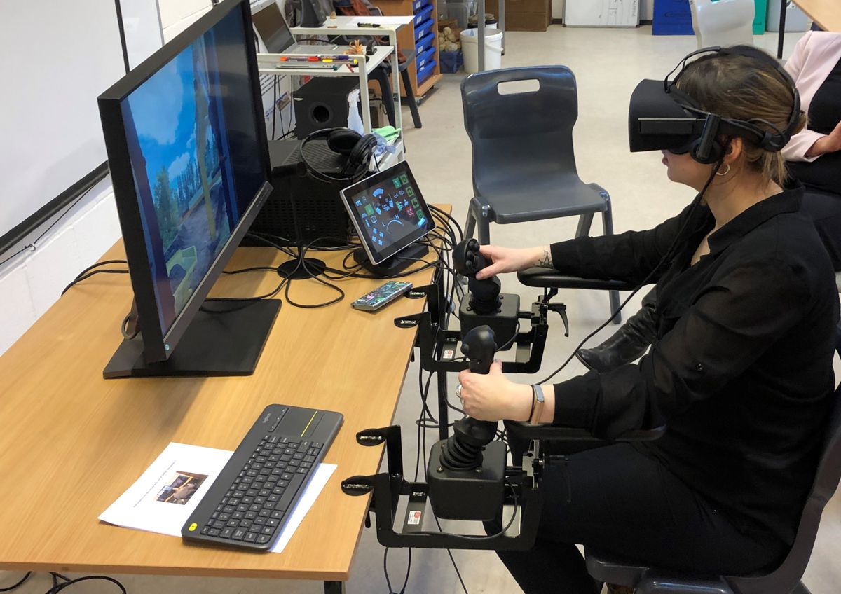 Minerals Matter brings the latest VR technology to Wainwright and Co's Outreach Programme
