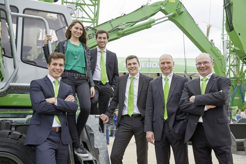 """For us, bauma is almost like an in-house exhibition and thus closely linked to the development of the family business."" Erich Sennebogen  Managing Director, SENNEBOGEN"