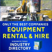 Find the best equipment hire and rental companies in the Highways.Today Construction Industry Directory