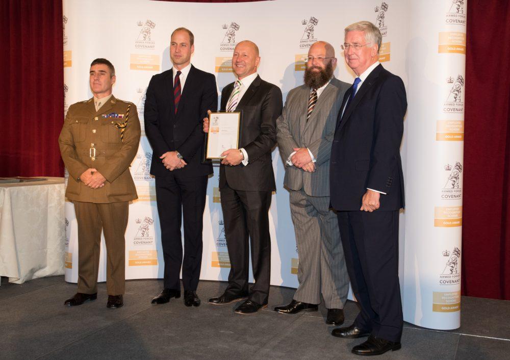 ERS Gold Awards 2016 at the Royal Hospital Chelsea.