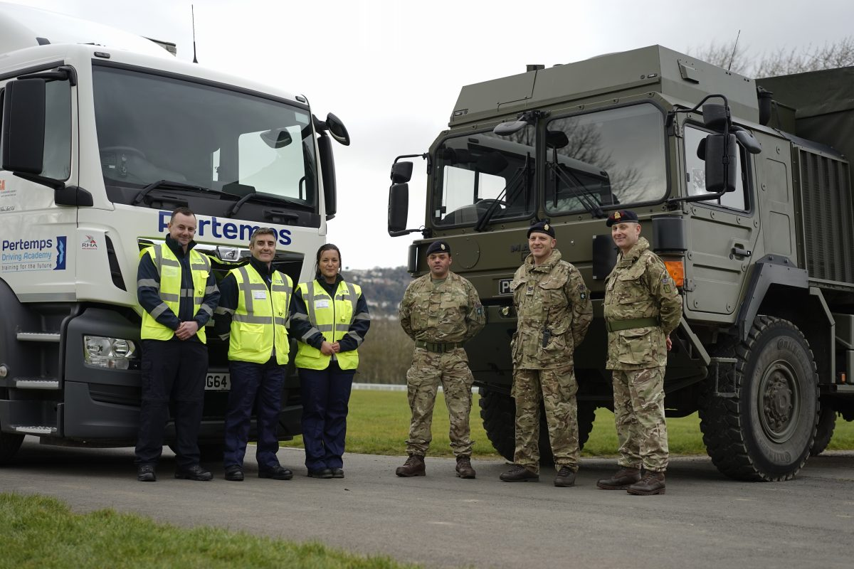 Military into Logistics