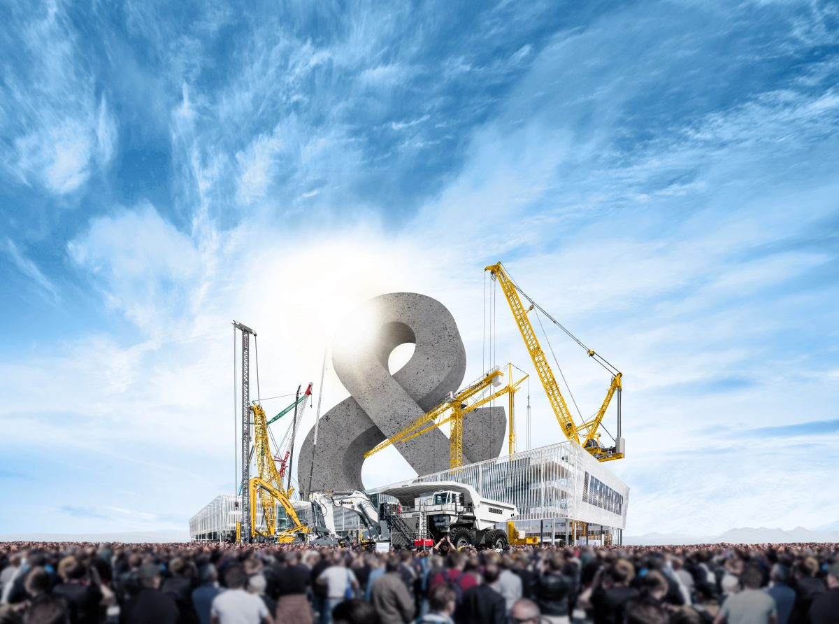 Liebherr - Together. Now and Tomorrow at Bauma 2019