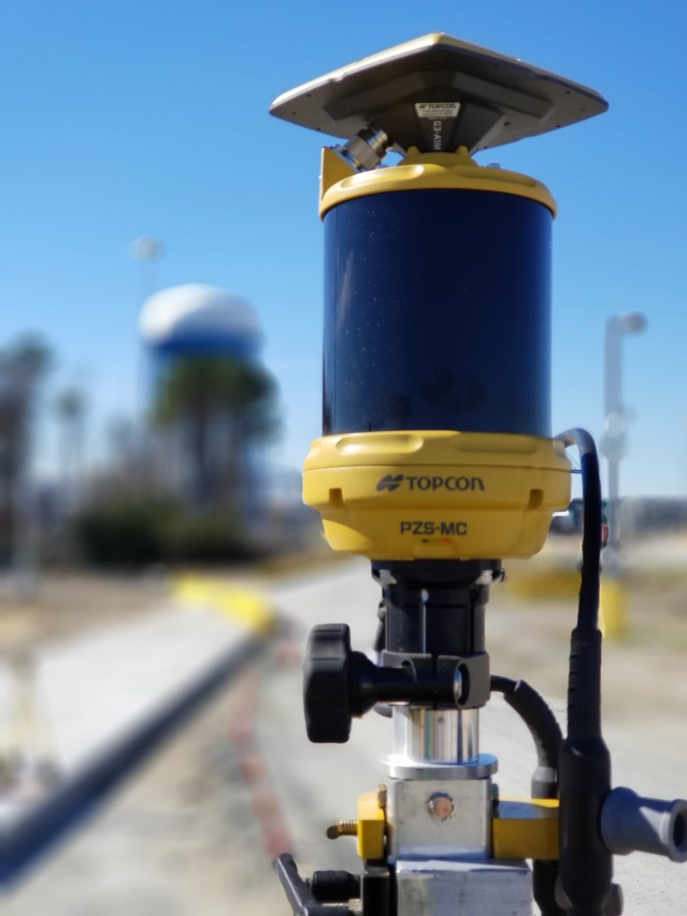 Topcon Millimeter GPS Paver System technology is Integral to Concrete Paving as Millimeter GPS raises the bar
