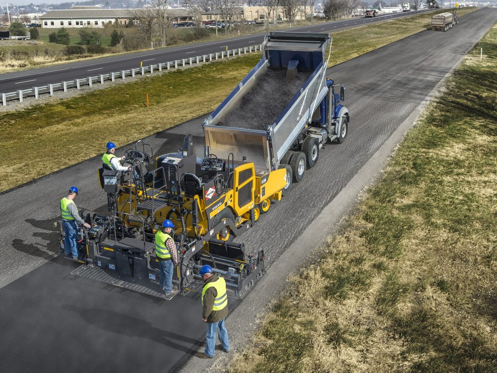 Volvo CE expands ActiveCare Direct program to their Asphalt Pavers