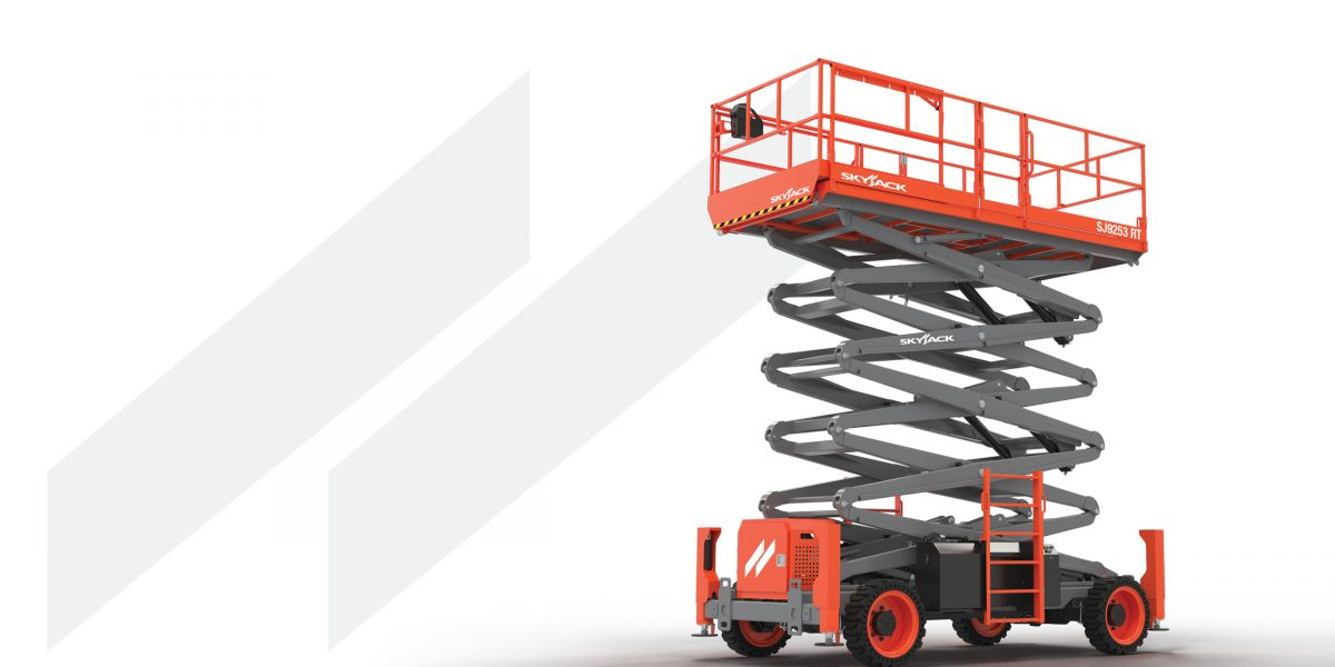 Skyjack unveils full size rough terrain scissor lifts