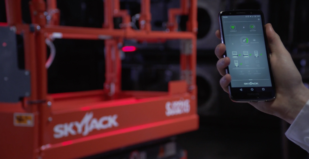 Skyjack steals the show with international remote self-checking technology