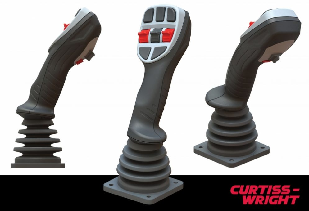 Curtiss-Wright launches ergonomic multi-function joystick controller