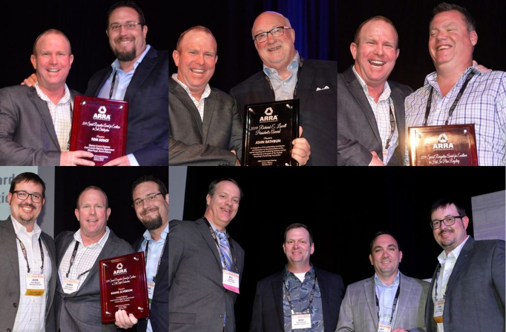 Awards and honours at the Asphalt Recycling and Reclaiming Association Annual Meeting