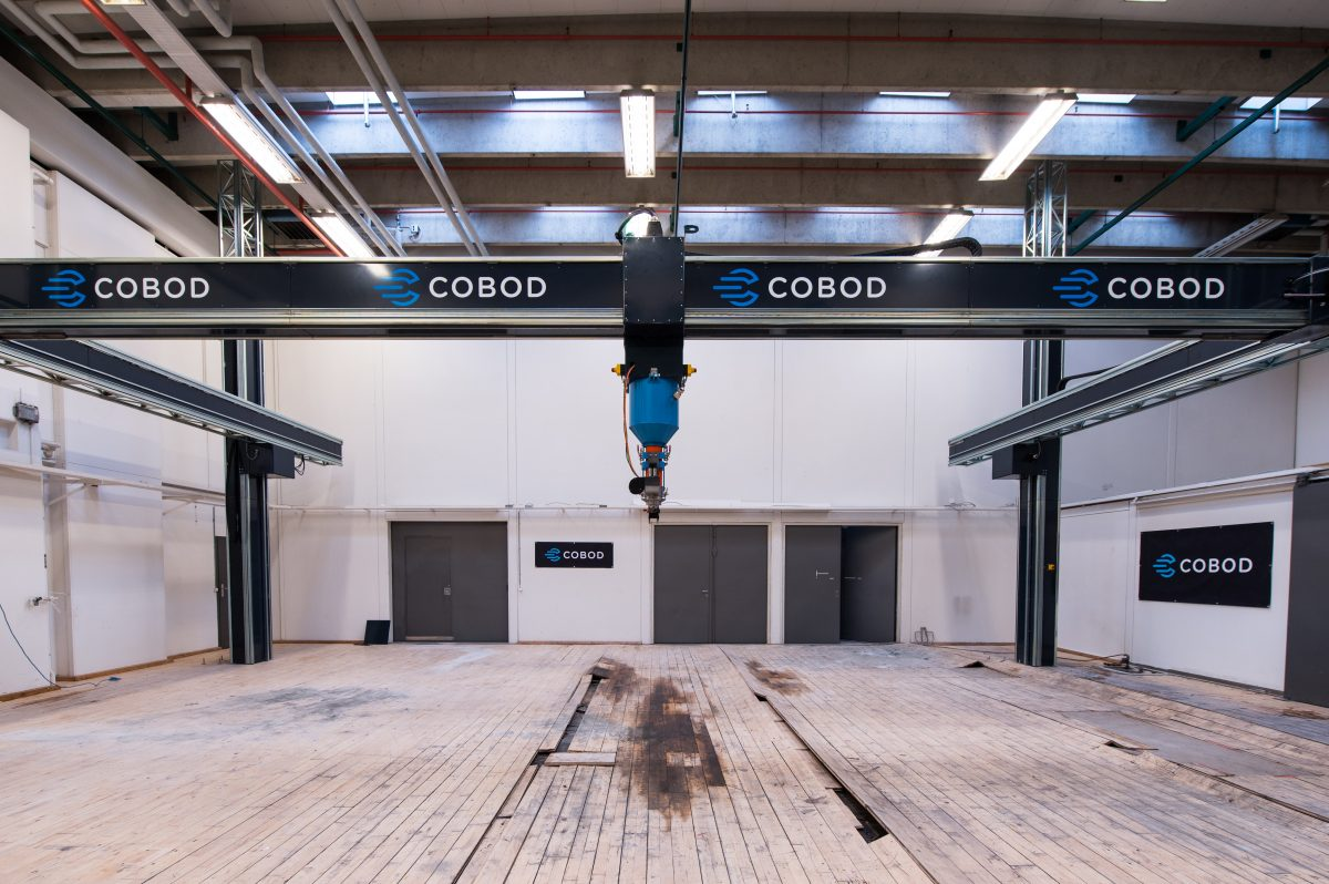 The largest 3D construction printer in the world heads for to Saudi Arabia