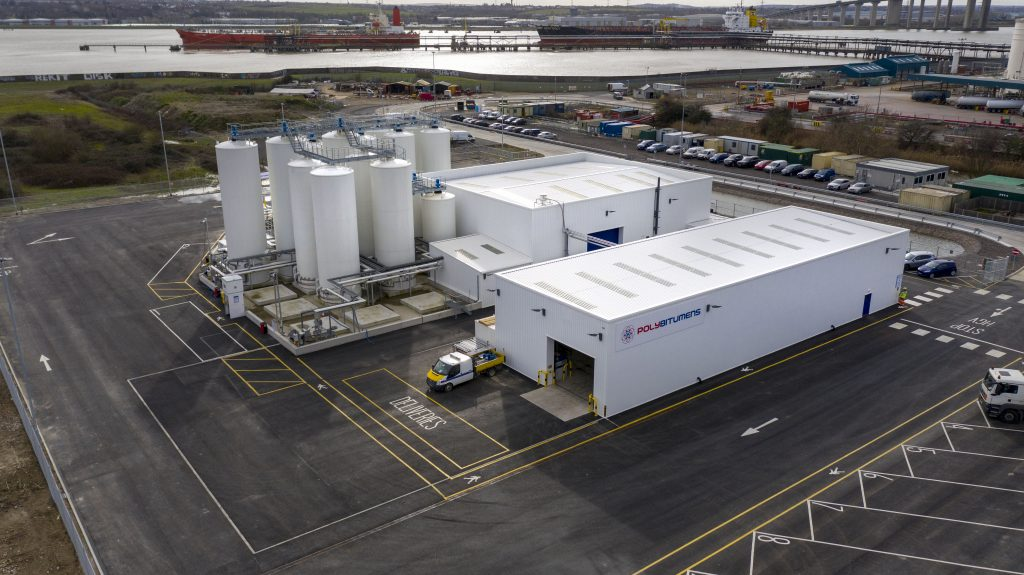 Eurovia UK invests £7m in PolyBitumens plant to enhance the UK highway network