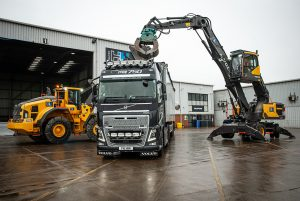 H and H start-up in Waste Management with Volvo Equipment