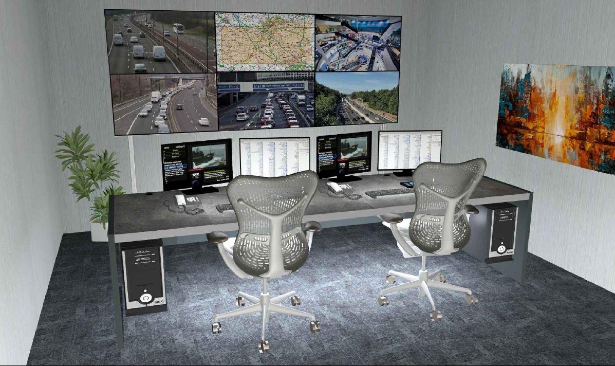 Dover CCTV Control Room