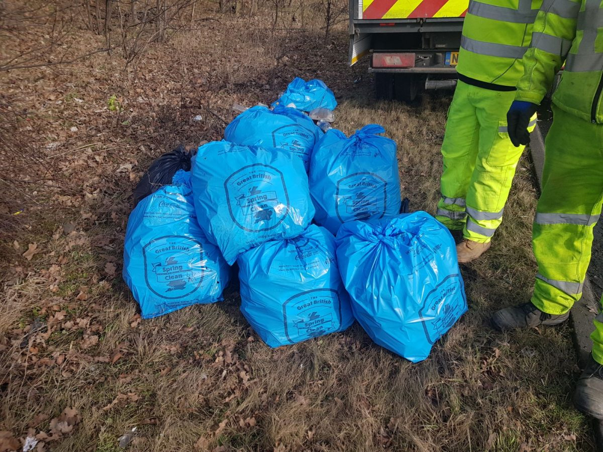 British drivers urged to clean up their act as part of a national litter campaign