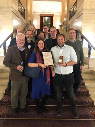 "The team bagged the the ""Rescue Project of the Year"" accolade in the 2019 Current Archaeology Awards"