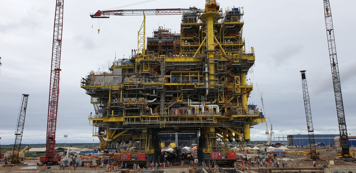 ALE completes offshore project while optimising yard space in Mexico